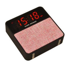 Портативная колонка с часами и будильником