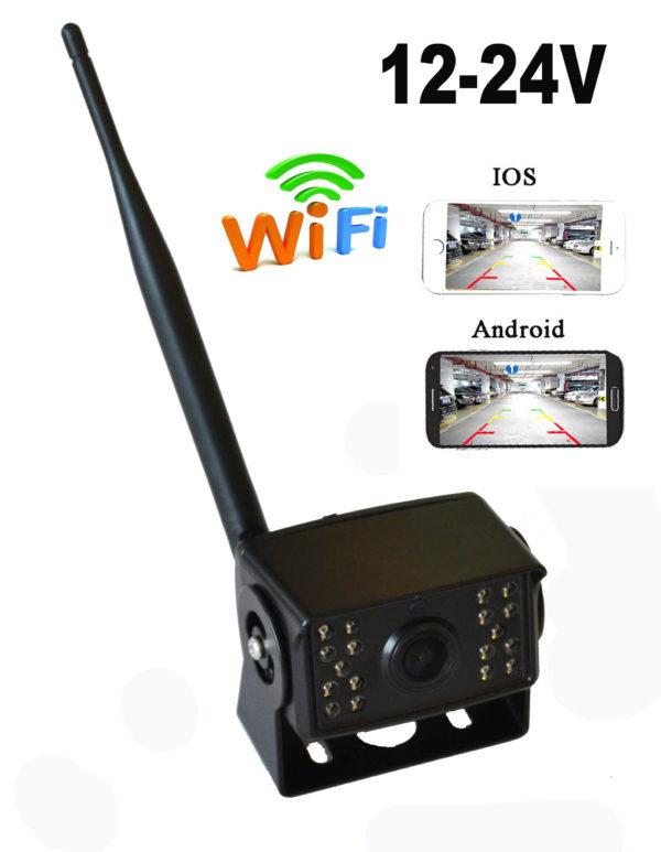 Беспроводная wifi камера для грузовых машин и спецтехники